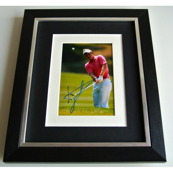 Luke Donald SIGNED 10x8 FRAMED Photo Mount Autograph Display Golf Sport & COA    PERFECT GIFT