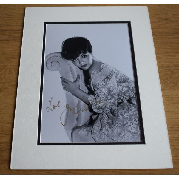 Joan Collins SIGNED autograph 16x12 LARGE photo display Hollywood Film AFTAL & COA Memorabilia PERFECT GIFT
