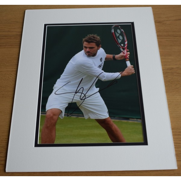 Stanislas Wawrinka SIGNED autograph 16x12 LARGE photo display Tennis Sport  AFTAL & COA Memorabilia PERFECT GIFT