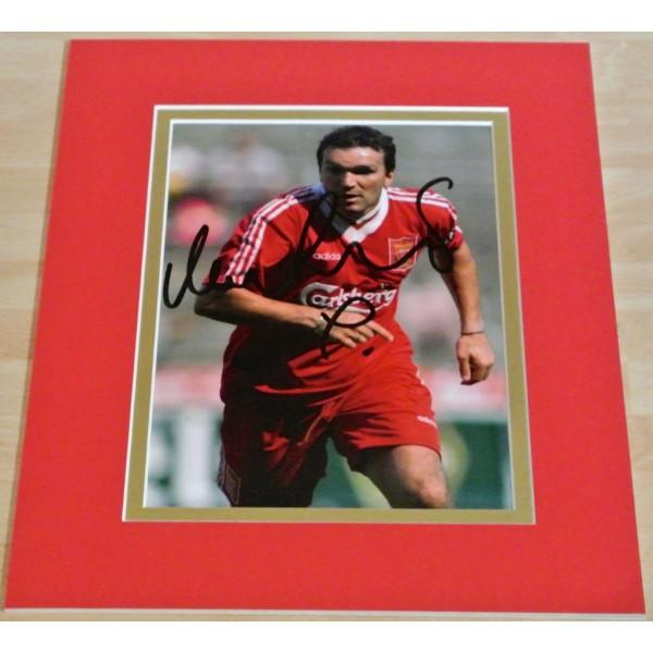Neil Ruddock SIGNED Autograph 10X8 Photo Mount Display Liverpool See PROOF & COA AFTAL SPORT Memorabilia