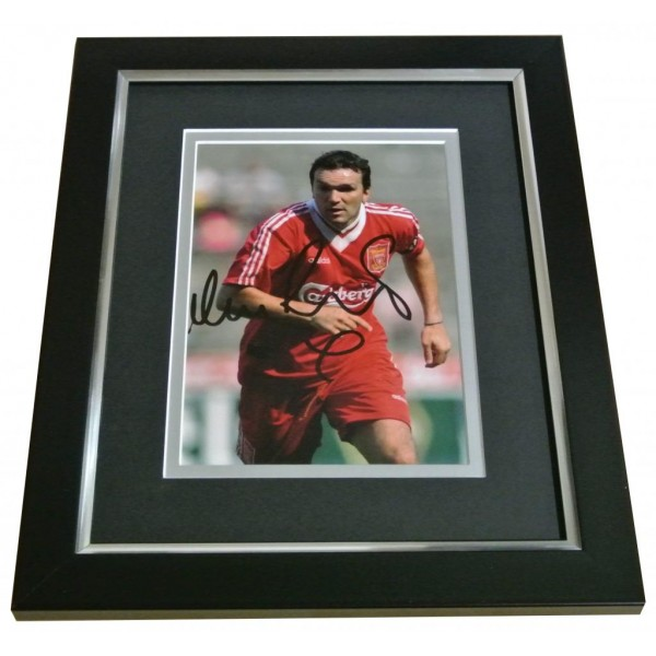 Neil Ruddock Signed 10x8 FRAMED Photo Autograph Display Liverpool PROOF & COA PERFECT GIFT