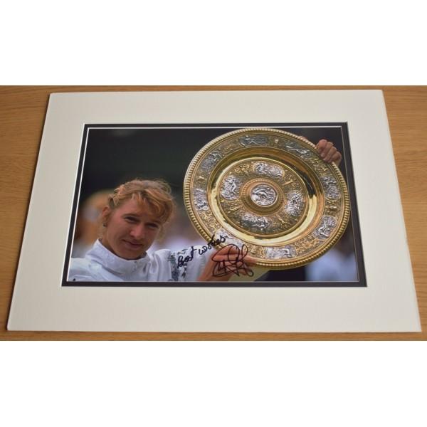 Steffi Graf SIGNED autograph 16x12 LARGE photo display Tennis Sport   AFTAL & COA Memorabilia PERFECT GIFT