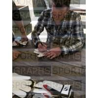 Dave Beasant SIGNED Goalkeeper Glove Autograph Gift Box Wimbledon PROOF  AFTAL &  COA Memorabilia PERFECT GIFT