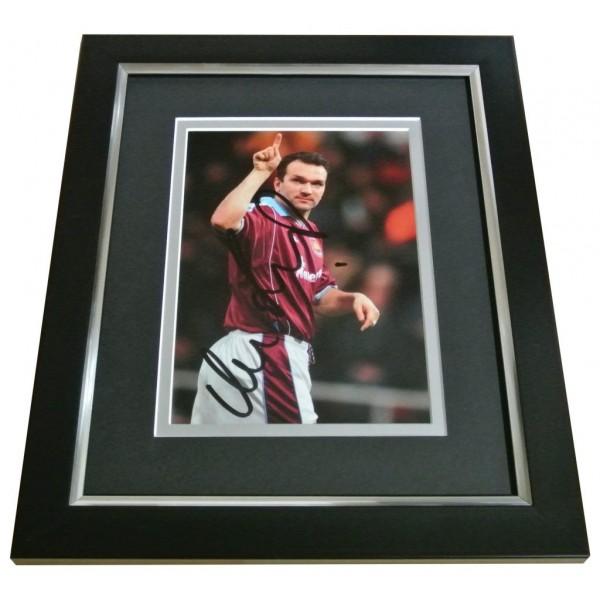 Neil Ruddock Signed 10x8 FRAMED Photo Autograph Display West Ham Utd PROOF & COA PERFECT GIFT