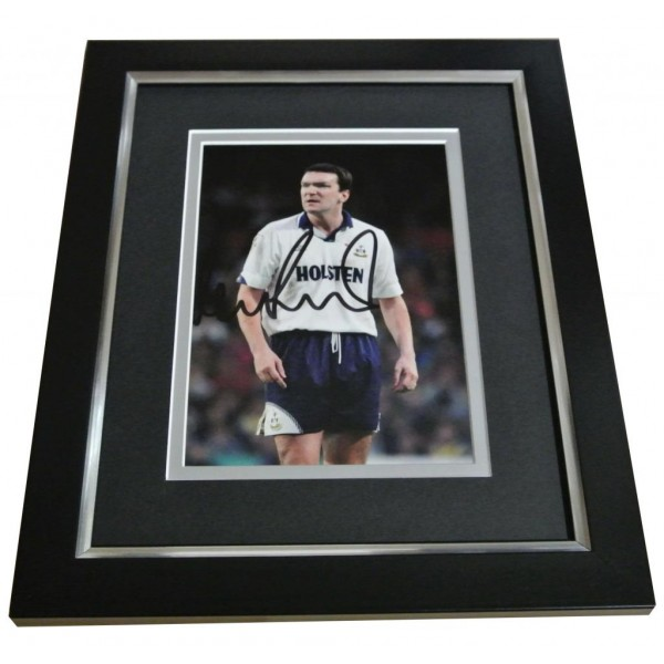 Neil Ruddock Signed 10x8 FRAMED Photo Autograph Display Hotspur Spurs PROOF COA PERFECT GIFT