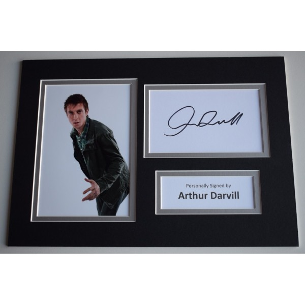 Arthur Darvill Signed Autograph A4 photo display TV Doctor Who Legends      AFTAL  COA Memorabilia PERFECT GIFT