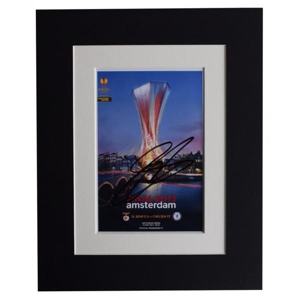 Gary Cahill Signed Autograph 10x8 photo 2013 Europa Cup Final Chelsea   AFTAL  COA Memorabilia PERFECT GIFT
