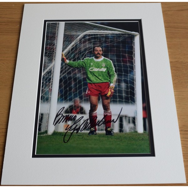 Bruce Grobbelaar SIGNED autograph 16x12 photo display Liverpool Football PROOF  AFTAL  COA Memorabilia PERFECT GIFT