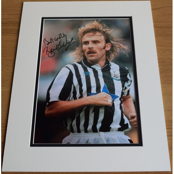 Brian Kilcline SIGNED autograph 16x12 photo display Newcastle United  AFTAL  COA Memorabilia PERFECT GIFT
