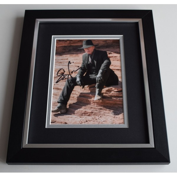 Ed Harris SIGNED 10x8 FRAMED Photo Autograph Display Westworld TV  AFTAL  COA Memorabilia PERFECT GIFT