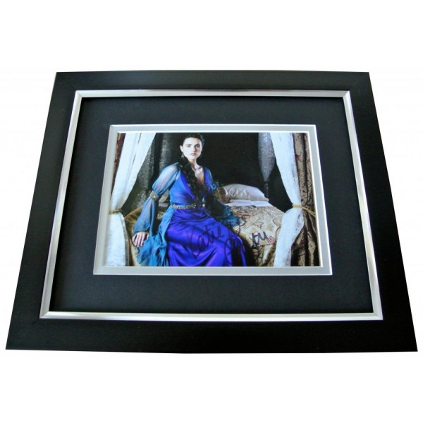 Katie McGrath Signed 10x8 FRAMED Photo Mount Autograph Display Merlin & COA      PERFECT GIFT