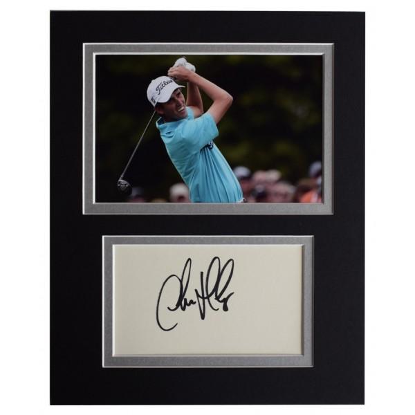 Chesson Hadley Signed Autograph 10x8 photo display Golf Sport AFTAL  COA Memorabilia PERFECT GIFT