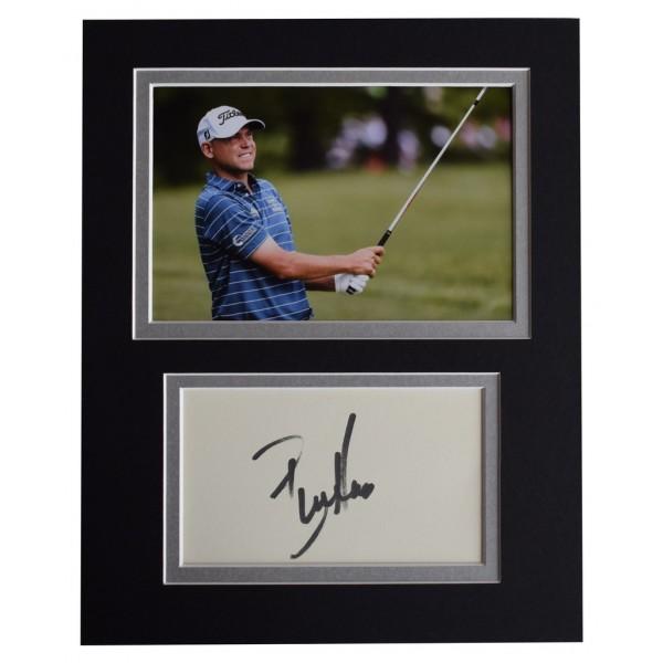 Bill Haas Signed Autograph 10x8 photo display Golf Sport   AFTAL  COA Memorabilia PERFECT GIFT