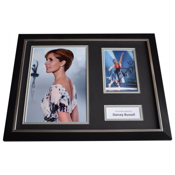 Darcey Bussell SIGNED FRAMED Photo Autograph 16x12 display Strictly Dancing   AFTAL  COA Memorabilia PERFECT GIFT