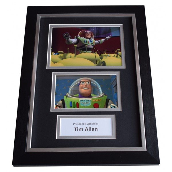 Tim Allen Signed A4 FRAMED photo Autograph display Toy Story Film Movie   AFTAL  COA Memorabilia PERFECT GIFT