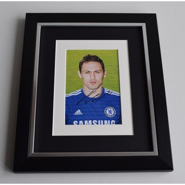 Nemanja Matic SIGNED 10x8 FRAMED Photo Autograph Display Chelsea Football AFTAL & COA Memorabilia PERFECT GIFT