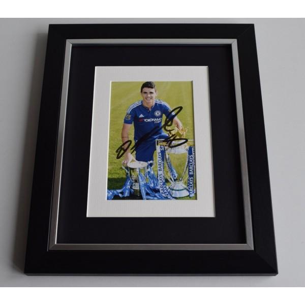 Oscar SIGNED 10x8 FRAMED Photo Autograph Display Chelsea Football AFTAL & COA Memorabilia PERFECT GIFT