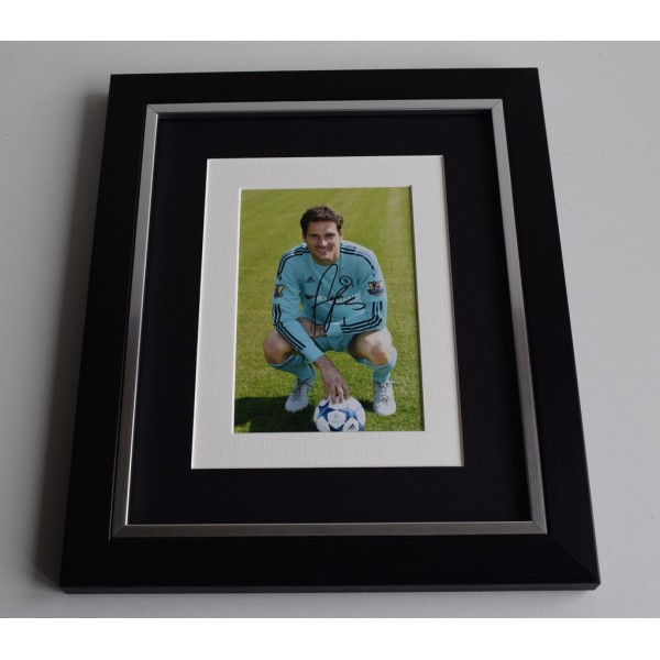 Asmir Begovic SIGNED 10x8 FRAMED Photo Autograph Display Chelsea Football   AFTAL & COA Memorabilia PERFECT GIFT
