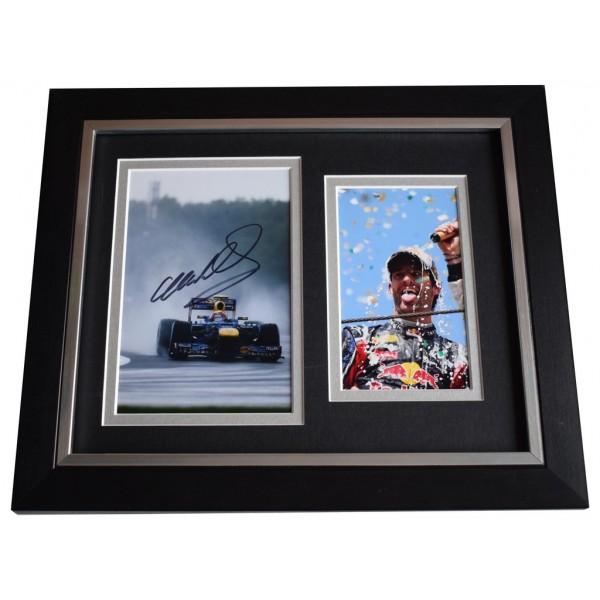 Mark Webber SIGNED 10x8 FRAMED Photo Autograph Display Formula 1 Racing   AFTAL  COA Memorabilia PERFECT GIFT