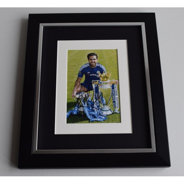 Cesc Fabregas SIGNED 10x8 FRAMED Photo Autograph Display Chelsea Football  AFTAL & COA Memorabilia PERFECT GIFT