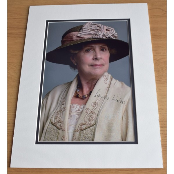 Penelope Wilton SIGNED autograph 16x12 LARGE photo display Downton Abbey TV AFTAL  COA Memorabilia PERFECT GIFT