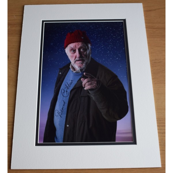 Bernard Cribbins SIGNED autograph 16x12 LARGE photo display Doctor Who TV AFTAL  COA Memorabilia PERFECT GIFT