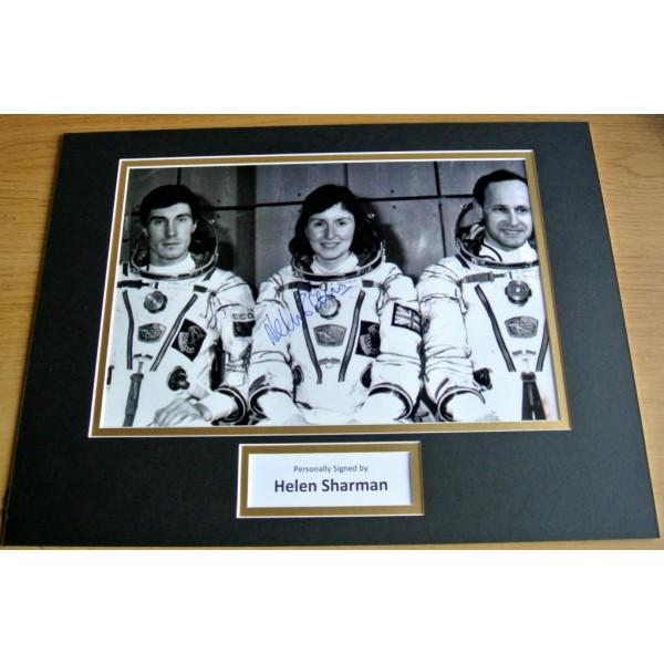 Helen Sharman SIGNED autograph 16x12 photo display MIR Space Station  AFTAL & COA Memorabilia PERFECT GIFT