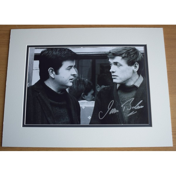 James Bolam SIGNED autograph 16x12 LARGE photo display TV Likely Lads AFTAL  COA Memorabilia PERFECT GIFT