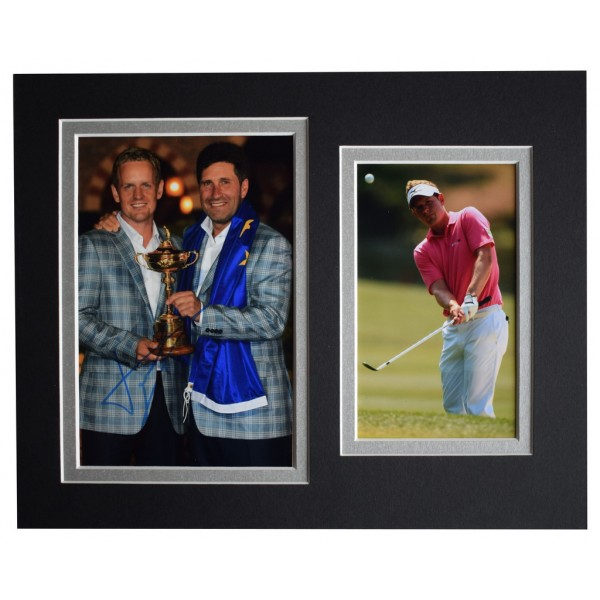 Luke Donald Signed Autograph 10x8 photo display Golf Sport  AFTAL  COA Memorabilia PERFECT GIFT