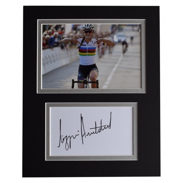 Lizzie Armitstead Signed Autograph 10x8 photo display Olympic Cycling  AFTAL  COA Memorabilia PERFECT GIFT