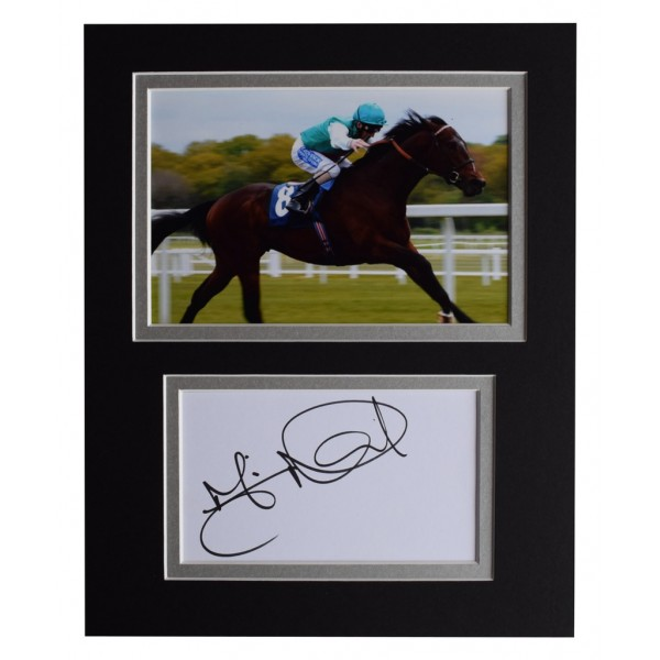 Martin Dwyer Signed Autograph 10x8 photo display Horse Racing Sport AFTAL  COA Memorabilia PERFECT GIFT