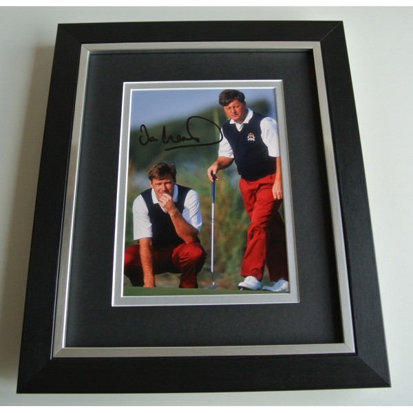 Ian Woosnam SIGNED 10x8 FRAMED Photo Autograph Display Golf Memorabilia COA       PERFECT GIFT