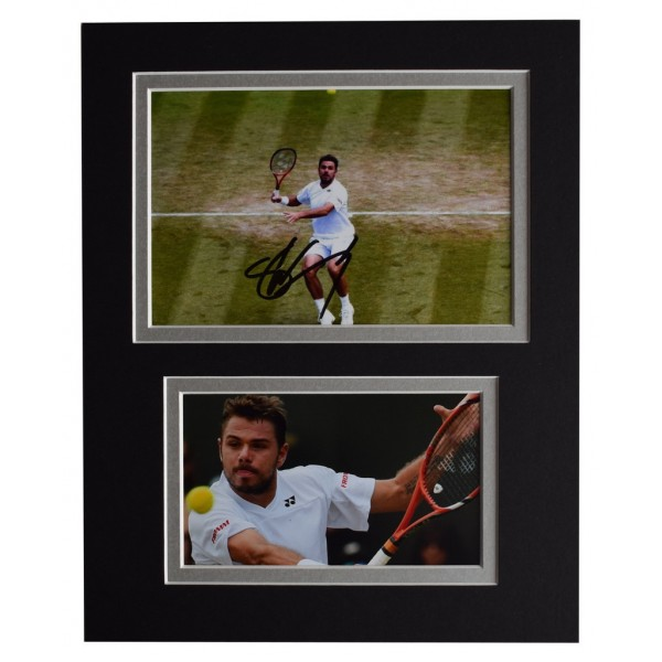 Stan Wawrinka Signed Autograph 10x8 photo display Tennis Sport  AFTAL  COA Memorabilia PERFECT GIFT