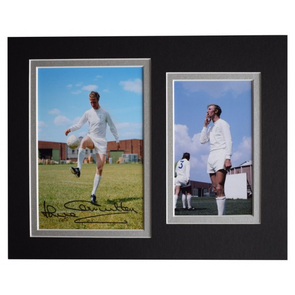Jack Charlton Signed Autograph 10x8 photo display Leeds Football   AFTAL  COA Memorabilia PERFECT GIFT