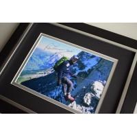 Ranulph Fiennes SIGNED 10X8 FRAMED Photo Autograph Explorer Mount Everest AFTAL & COA Memorabilia PERFECT GIFT