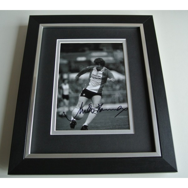 Mick Channon SIGNED 10x8 FRAMED Photo Autograph Display Southampton & COA          PERFECT GIFT