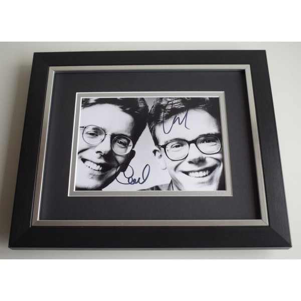 The Proclaimers SIGNED 10X8 FRAMED Photo Autograph Music AFTAL & COA Memorabilia PERFECT GIFT