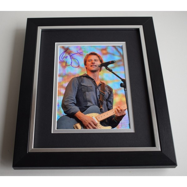 Chesney Hawkes SIGNED 10X8 FRAMED Photo Autograph Music   AFTAL & COA Memorabilia PERFECT GIFT
