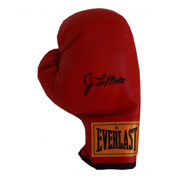 Jake LaMotta SIGNED Boxing Glove Autograph Everlast  PROOF  AFTAL  COA Memorabilia PERFECT GIFT
