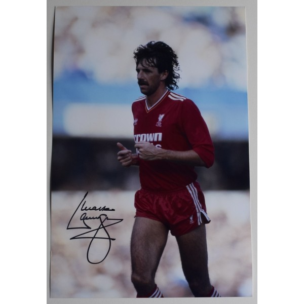Mark Lawrenson SIGNED 12x8 Photo Autograph Liverpool Football AFTAL  COA Memorabilia PERFECT GIFT