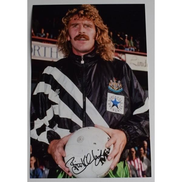 Brian Kilcline SIGNED 12x8 Photo Autograph Newcastle United Football AFTAL  COA Memorabilia PERFECT GIFT