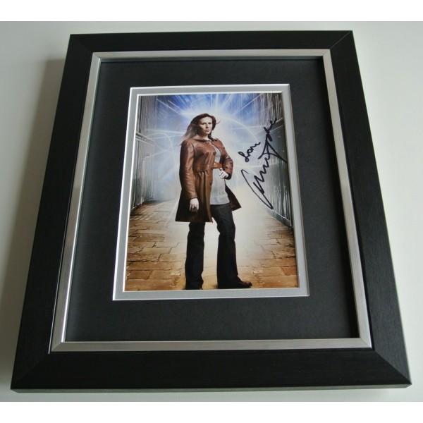 Catherine Tate SIGNED 10x8 FRAMED Photo Autograph Display Doctor Who TV & COA       PERFECT GIFT