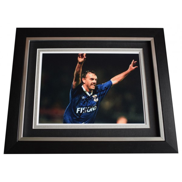 John Wark SIGNED 10x8 FRAMED Photo Autograph Display Ipswich Football  AFTAL  COA Memorabilia PERFECT GIFT