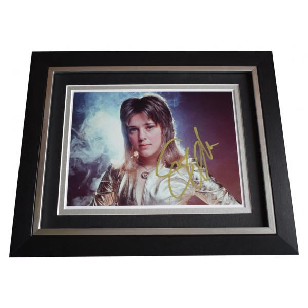 Suzi Quatro SIGNED 10x8 FRAMED Photo Autograph Display Music AFTAL  COA Memorabilia PERFECT GIFT