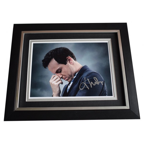 Andrew Scott SIGNED 10x8 FRAMED Photo Autograph Display Sherlock Film AFTAL  COA Memorabilia PERFECT GIFT