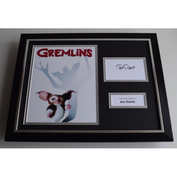Joe Dante SIGNED FRAMED Photo Autograph 16x12 display Gremlins  AFTAL & COA Memorabilia PERFECT GIFT