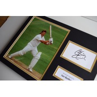 Ian Botham SIGNED autograph 16x12 photo display England Cricket   AFTAL & COA Memorabilia PERFECT GIFT