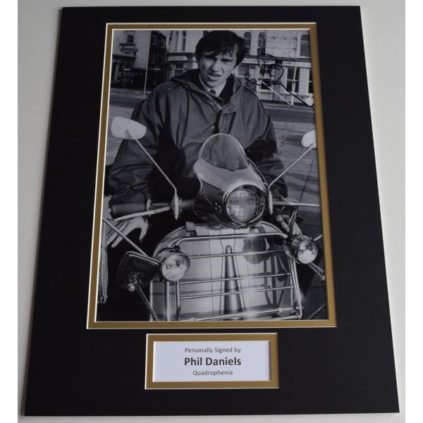 Phil Daniels SIGNED autograph 16x12 photo display Quadrophenia Film AFTAL  COA Memorabilia PERFECT GIFT