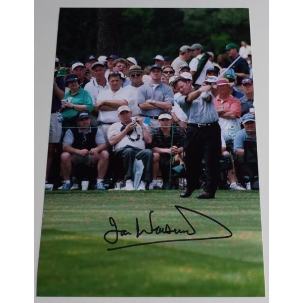 Ian Woosnam SIGNED 12x8 Photo Autograph Golf  AFTAL  COA Memorabilia PERFECT GIFT