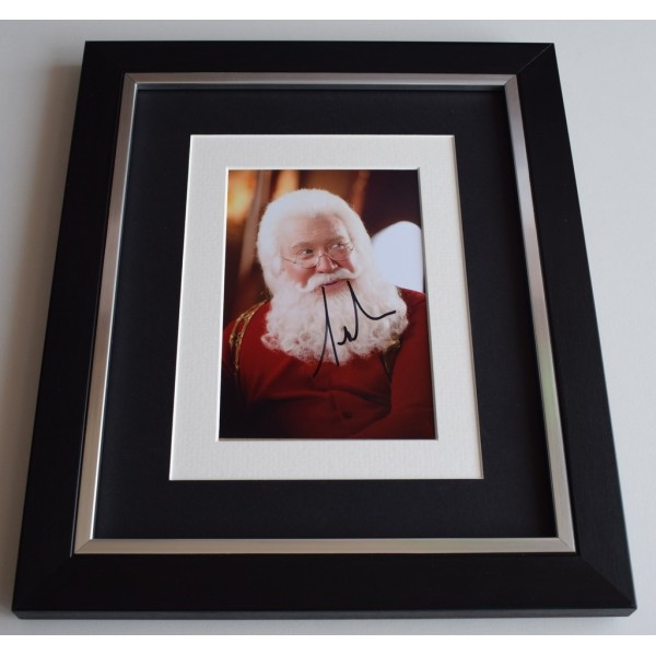 Tim Allen SIGNED 10x8 FRAMED Photo Autograph Display Santa Clause Film AFTAL  COA Memorabilia PERFECT GIFT